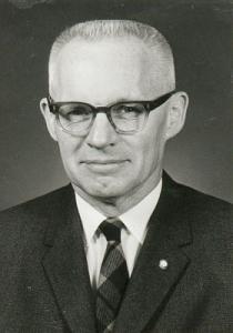 McKnight, John * black and white portrait