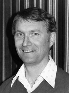 Savage, John black and white portrait