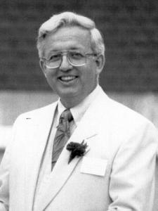 Roberts, Donald black and white portrait