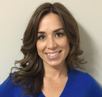 Lisa Anne Floyd portrait in a blue shirt