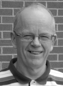 John Galbraith black and white portrait