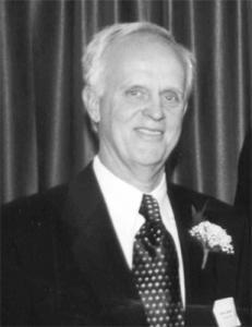 Robert Laliberté black and white portrait