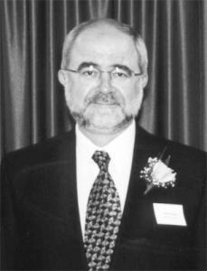 Robert McRoberts black and white portrait