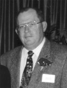 Curran, Donald black and white portrait