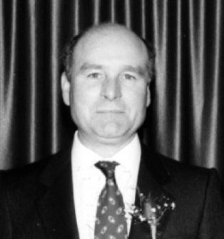 McCudden, Brian black and white portrait